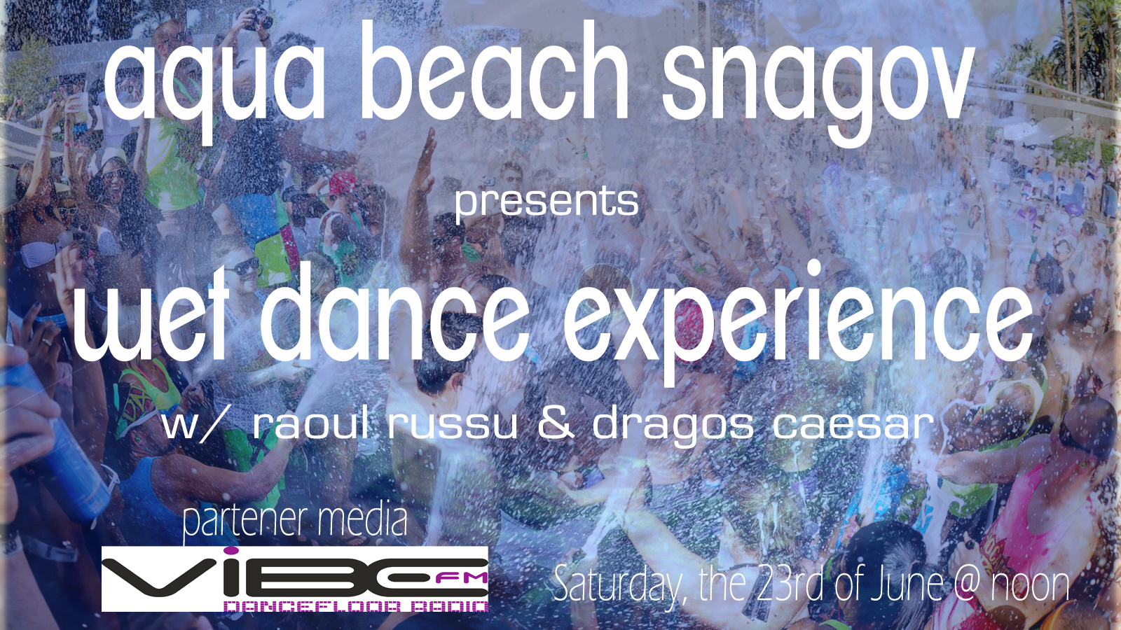 flyer WET DANCE EXPERIENCE fata